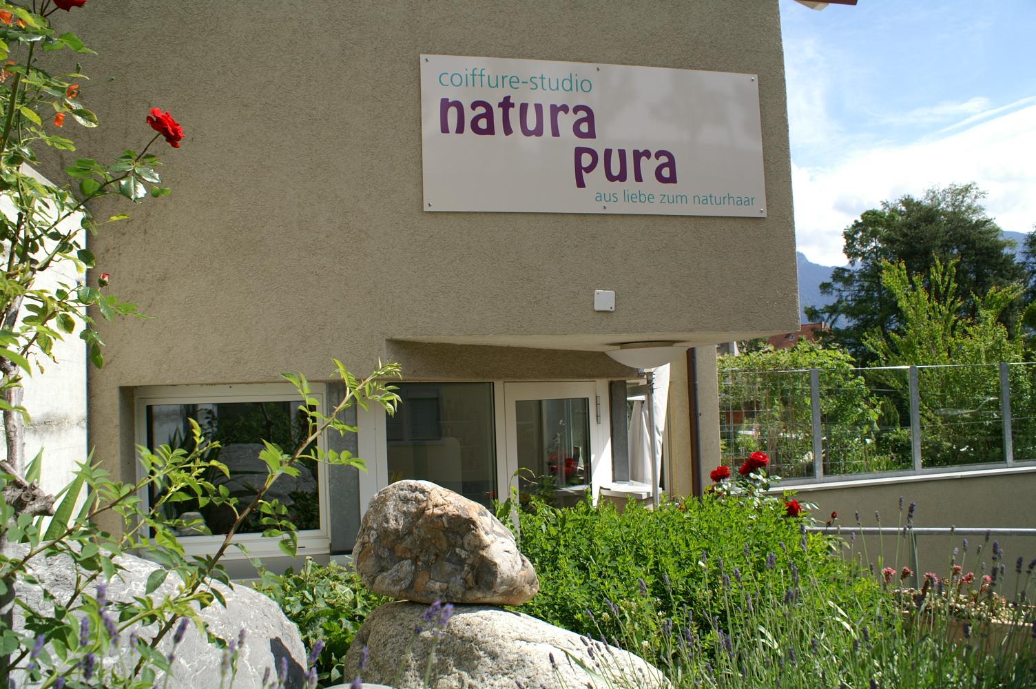 Natura Pura Eingang
